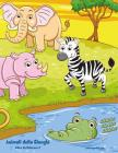 Animali della Giungla Libro da Colorare 2 Cover Image