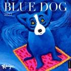 Blue Dog 2022 Wall Calendar Cover Image