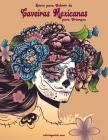 Livro para Colorir de Caveiras Mexicanas para Crianças Cover Image