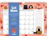 Cat Mom 17-Month Wall Calendar 2021 Cover Image