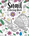 Snail Coloring Book Cover Image