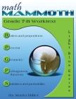 Math Mammoth Grade 7-B Worktext Cover Image