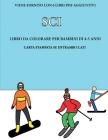 Libro da colorare per bambini di 4-5 anni(Sci): Questo libro contiene 40 pagine a colori senza stress progettate per ridurre la frustrazione e aumenta Cover Image