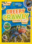 National Geographic Kids Creepy Crawly Sticker Activity Book: Over 1,000 Stickers! (NG Sticker Activity Books) Cover Image