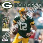 Green Bay Packers Aaron Rodgers 2019 12x12 Player Wall Calendar Cover Image