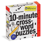Mensa 10-Minute Crossword Puzzles Page-A-Day Calendar 2022 Cover Image
