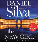 The New Girl Low Price CD: A Novel (Gabriel Allon #19) Cover Image