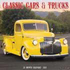 Classic Cars & Trucks Wall Calendar Cover Image