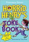 Horrid Henry's Joke Book Cover Image