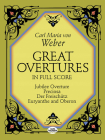 Great Overtures in Full Score (Dover Music Scores) Cover Image
