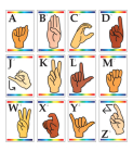 Sign Language Learning Cards with Braille Cover Image