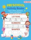 Preschool Activity Books Cover Image
