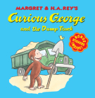 Curious George and the Dump Truck (8x8 with stickers) Cover Image
