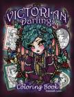 Victorian Darlings Coloring Book Cover Image