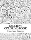 Fall Joys Coloring Book Cover Image