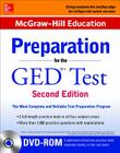 McGraw-Hill Education Preparation for the GED Test with DVD-ROM Cover Image