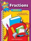 Fractions Grade 4 (Practice Makes Perfect (Teacher Created Materials)) Cover Image