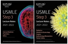 USMLE Step 3 Lecture Notes 2021-2022 (USMLE Prep) Cover Image
