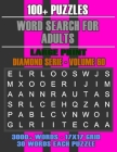 Word Search for Adults: More Games, For Adults, Large Letter High Definition Select Words Cover Image