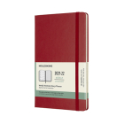Moleskine 2021-2022 Weekly Planner, 18M, Large, Scarlet Red, Hard Cover (5 x 8.25) Cover Image