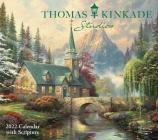 Thomas Kinkade Studios 2022 Deluxe Wall Calendar with Scripture Cover Image