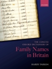 The Concise Oxford Dictionary of Family Names in Britain Cover Image