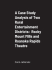 A Case Study Analysis of Two Rural Entertainment Districts: Rocky Mount Mills and Roanoke Rapids Theatre Cover Image