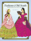Fashions of the Old South Paper Dolls in Full Color Cover Image