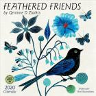 Feathered Friends 2020 Wall Calendar: Watercolor Bird Illustrations by Geninne D Zlatkis Cover Image