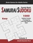 Samurai Sudoku Puzzle Book: 1000 Easy Sudoku Puzzles Overlapping into 200 Samurai Style Cover Image