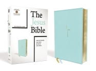 The Jesus Bible, NIV Edition, Leathersoft, Blue, Comfort Print Cover Image