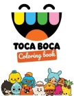 Toca Boca coloring book: Perfect christmas gift with +30 design and high quality paper for The Toca Life lovers great for toddlers, kids and ad Cover Image