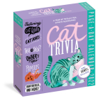 Cat Trivia Page-A-Day Calendar 2022: Cat Quotes, Cat Jokes, True or False, Owner's Tips, Famous Cats, Know Your Breeds, and More! Cover Image