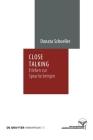 Close Talking (Humanprojekt #16) Cover Image
