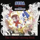 SEGA: The Official Coloring Book Cover Image