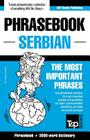 English-Serbian phrasebook and 3000-word topical vocabulary Cover Image