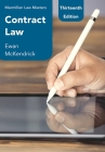 Contract Law (MacMillan Law Masters) Cover Image
