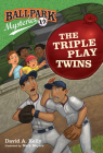 Ballpark Mysteries #17: The Triple Play Twins Cover Image