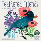Feathered Friends 2022 Mini Wall Calendar: Watercolor Bird Illustrations Cover Image