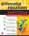 Differential Equations Demystified Cover Image