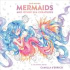 Pop Manga Mermaids and Other Sea Creatures: A Coloring Book Cover Image