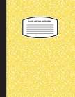Classic Composition Notebook: (8.5x11) Wide Ruled Lined Paper Notebook Journal (Yellow) (Notebook for Kids, Teens, Students, Adults) Back to School Cover Image
