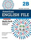American English File Second Edition: Level 2 Multi-Pack B: With Online Practice and Ichecker Cover Image
