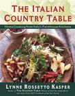 The Italian Country Table: Italian Country Table Cover Image
