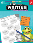 180 Days of Writing for Second Grade: Practice, Assess, Diagnose (180 Days of Practice) Cover Image