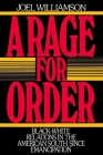 A Rage for Order: Black-White Relations in the American South Since Emancipation (Galaxy Books) Cover Image