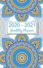 2020 - 2021 Monthly Planner: Mandala Ethnic Floral 2020-2021 Pocket Calendar Cover Image