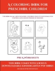 Pre K Worksheets (A Coloring book for Preschool Children): This book has 50 extra-large pictures with thick lines to promote error free coloring to in Cover Image