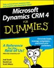 Microsoft Dynamics CRM 4 for Dummies Cover Image
