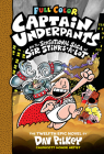 Captain Underpants and the Sensational Saga of Sir Stinks-A-Lot: Color Edition (Captain Underpants #12) (Color Edition) Cover Image